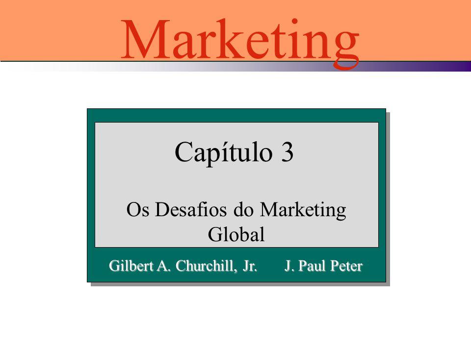 Gilbert A. Churchill, Jr. J. Paul Peter Capítulo 3 Os Desafios do Marketing Global Marketing
