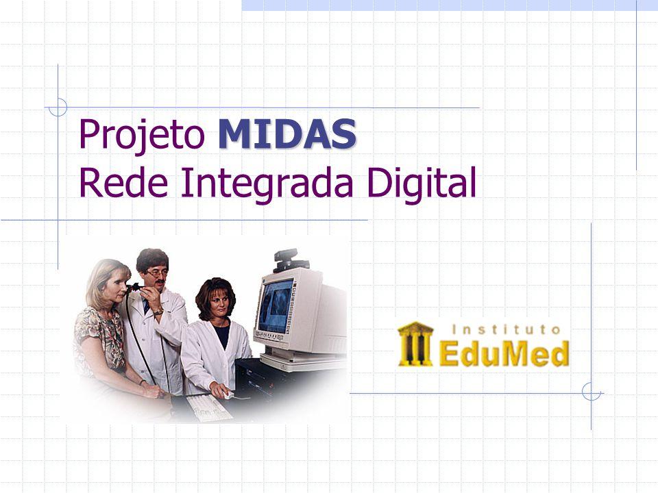MIDAS Projeto MIDAS Rede Integrada Digital