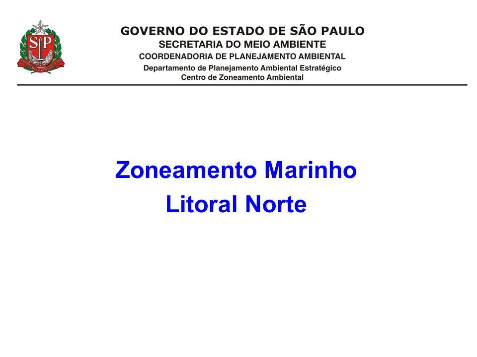 Zoneamento Marinho Litoral Norte