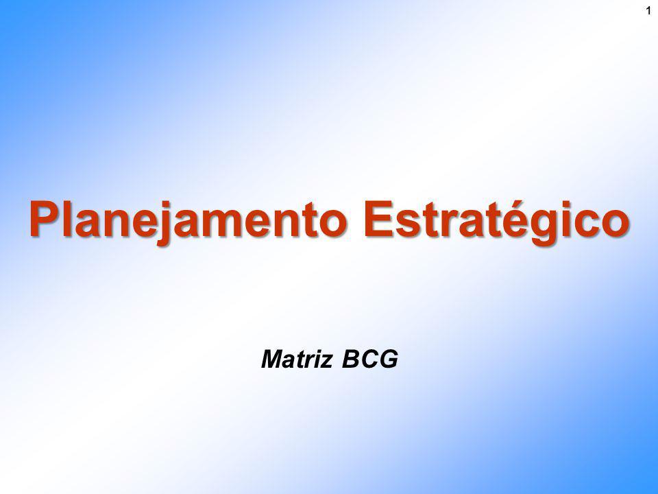 Planejamento Estratégico Matriz BCG 1
