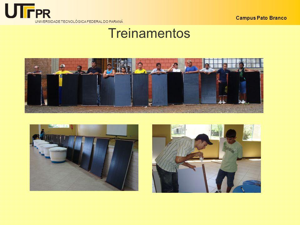 UNIVERSIDADE TECNOLÓGICA FEDERAL DO PARANÁ Campus Pato Branco Treinamentos