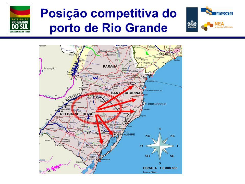 Programa de NI do Rio Grande do Sul Pontos fracos: –Procedimentos levam tempo –Exceções não são possíveis –Normas e regulamentações Federais limitam a inovação –Ausência do Porto de Rio Grande no interior