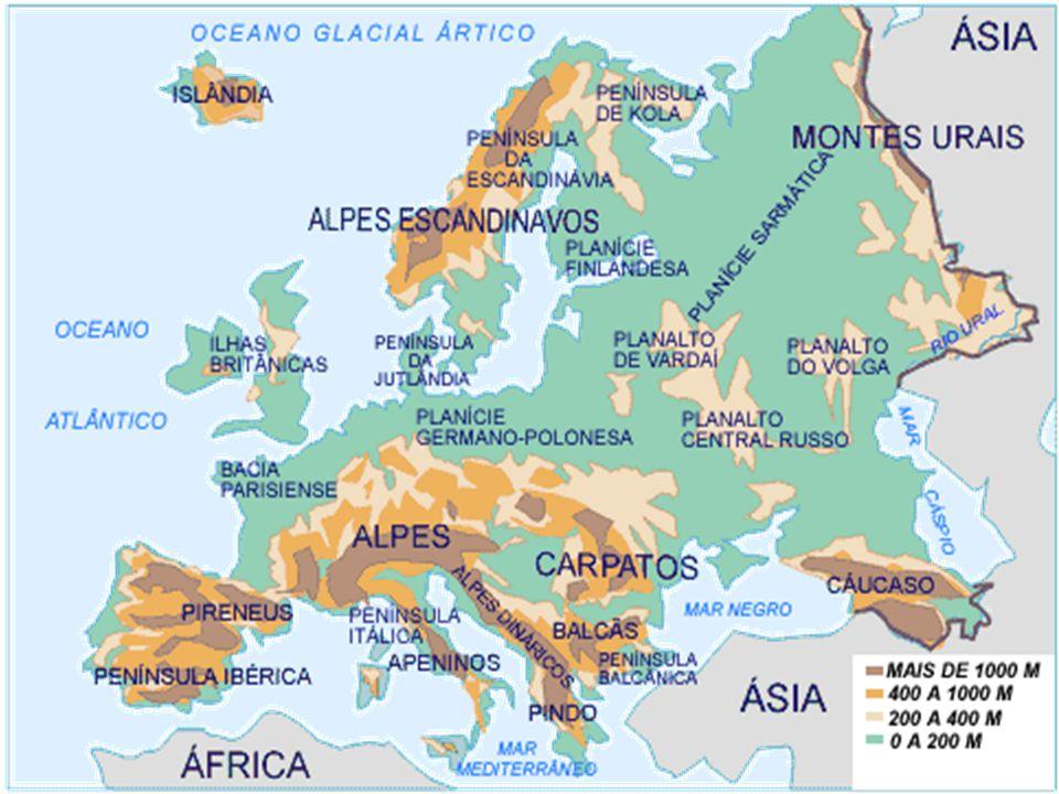 Composição majoritária: germânicos, latinos e eslavos.