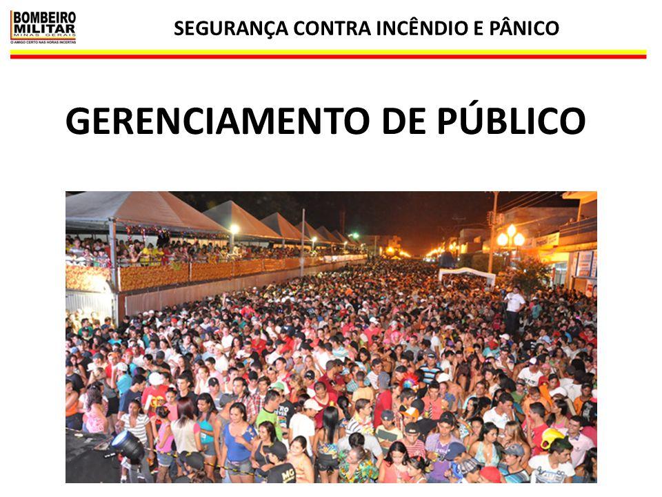 SEGURANÇA CONTRA INCÊNDIO E PÂNICO 27 GERENCIAMENTO DE PÚBLICO