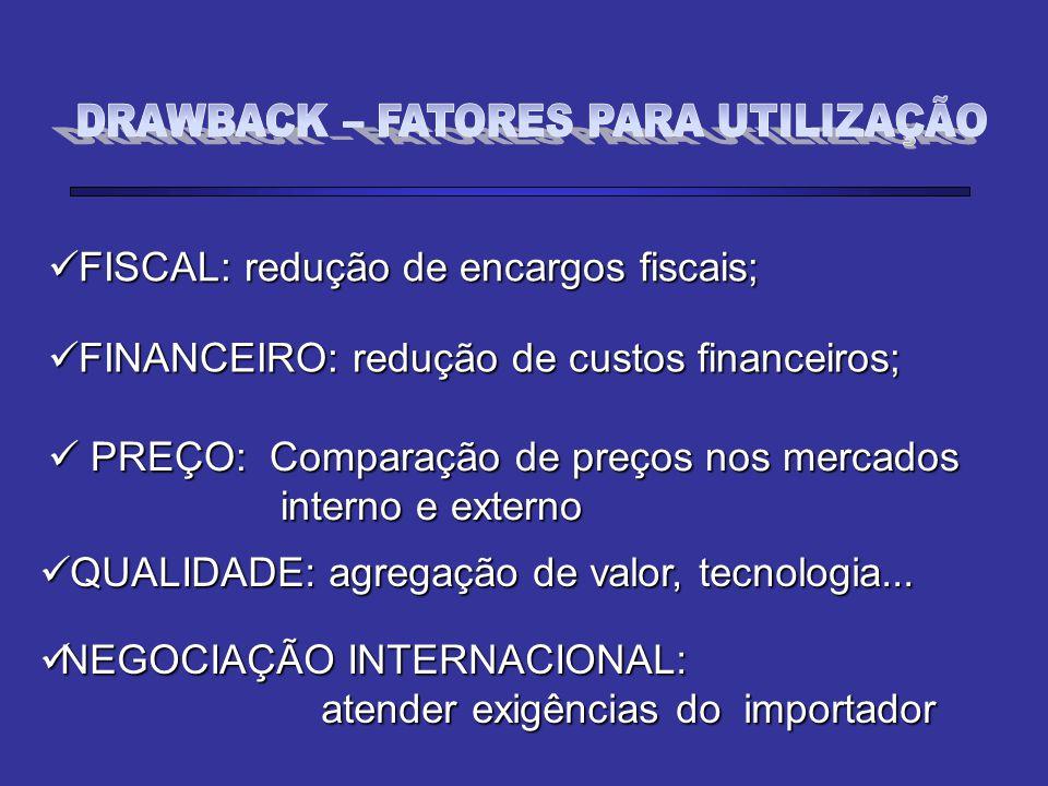 FISCAL: redução de encargos fiscais; FISCAL: redução de encargos fiscais; FINANCEIRO: redução de custos financeiros; FINANCEIRO: redução de custos fin