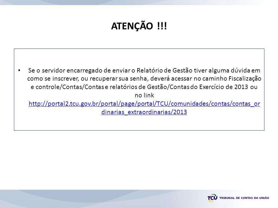 ATENÇÃO !!.