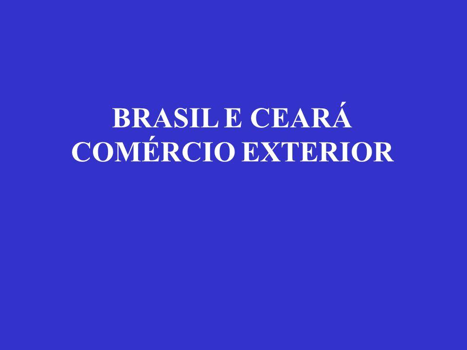 BRASIL E CEARÁ COMÉRCIO EXTERIOR