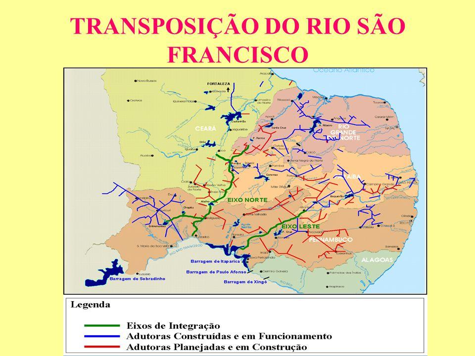 TRANSPOSIÇÃO DO RIO SÃO FRANCISCO
