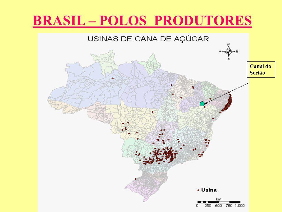 LOCALIZAÇÃO Canal do Sertão