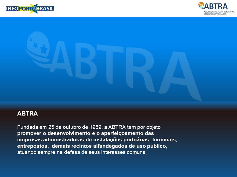 ABTRA Fundada em 25 de outubro de 1989, a ABTRA tem por objeto promover o desenvolvimento e o aperfeiçoamento das empresas administradoras de instalaç