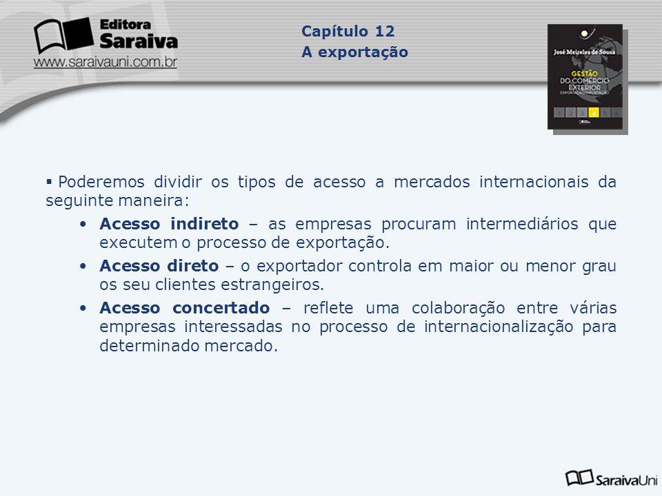 12.3 O PROCESSO ADMINISTRATIVO DE EXPORTAÇÃO  O despacho aduaneiro de exportação é processado por meio da Declaração do Despacho de Exportação (DDE) registrada no Sistema Integrado de Comércio Exterior (Siscomex), tendo a si vinculado um ou mais Registros de Exportação (RE).