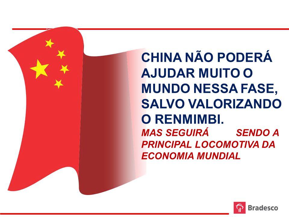 8 Evolução do Renminbi SPOT - 2011 Fonte: Bloomberg Elaboração: Bradesco