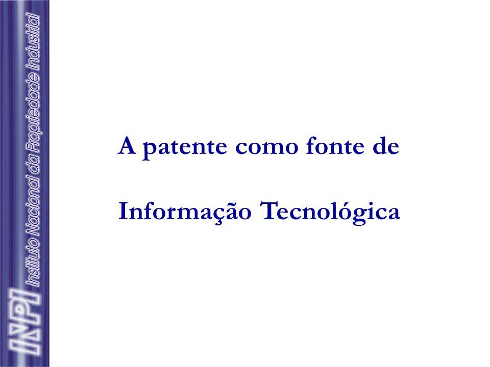  Informação Tecnológica é todo tipo de conhecimento sobre tecnologias de fabricação, de projeto e de gestão que favoreça a melhoria contínua da qualidade e a inovação no setor produtivo.