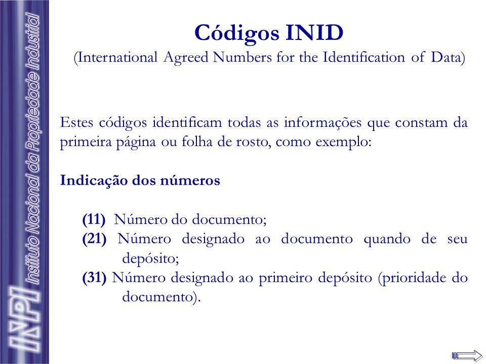 Informações Bibliográficas Dados identificadores do documento: padronização internacional
