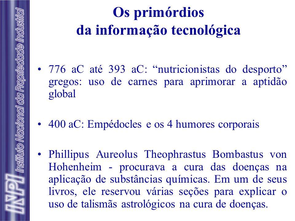 A patente como fonte de Informação Tecnológica