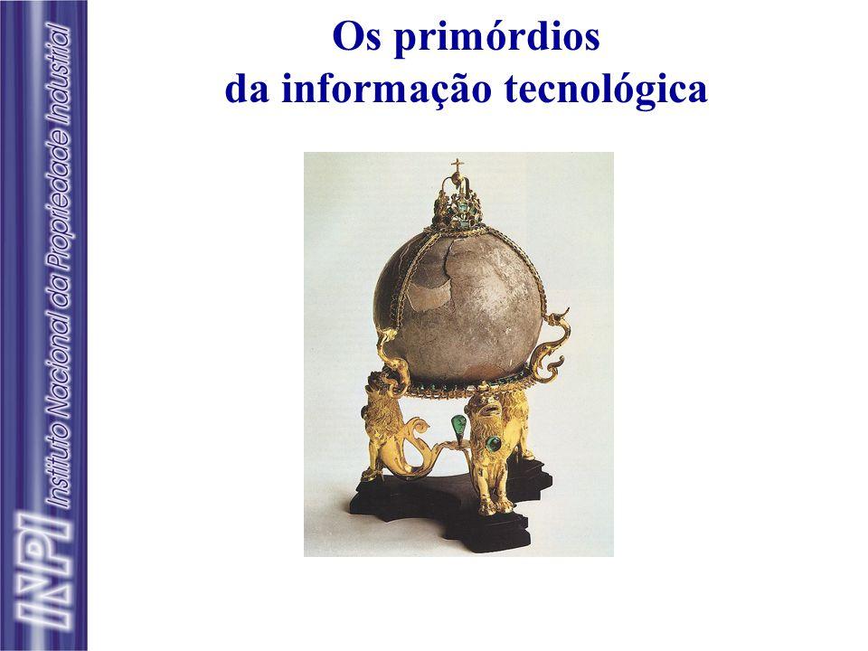 """Os primórdios da informação tecnológica a alectoria do intestino dos capões o asinus do intestino dos asnos selvagens o aquilinus """" de um certo peixe"""""""