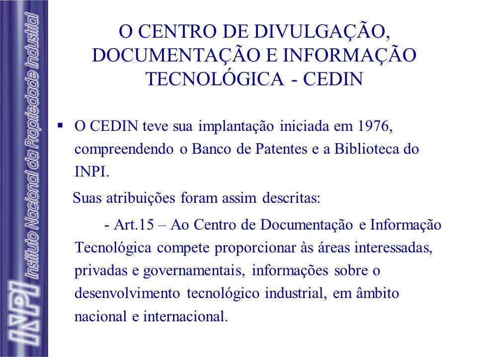 DIESPRO: Divisão de Estudos e Programas SEPROG: Seção de Estudos e Programas DINTEC: Divisão de Informação Tecnológica SEBUS: Seção de Buscas SESER: S