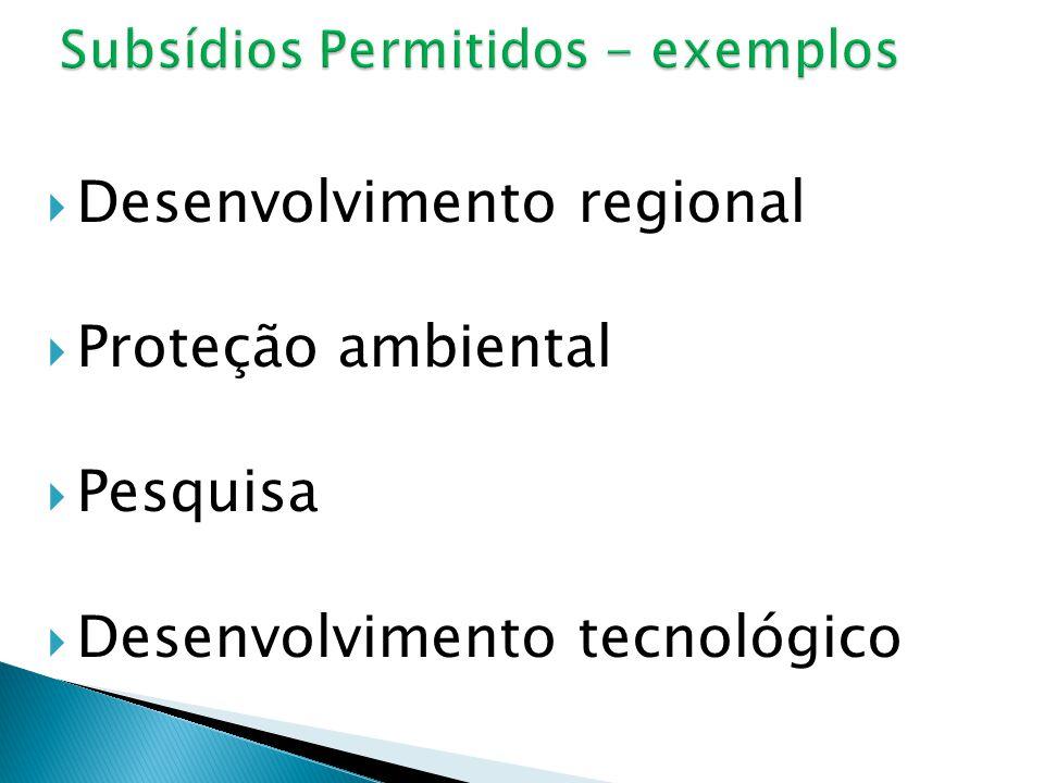  Desenvolvimento regional  Proteção ambiental  Pesquisa  Desenvolvimento tecnológico