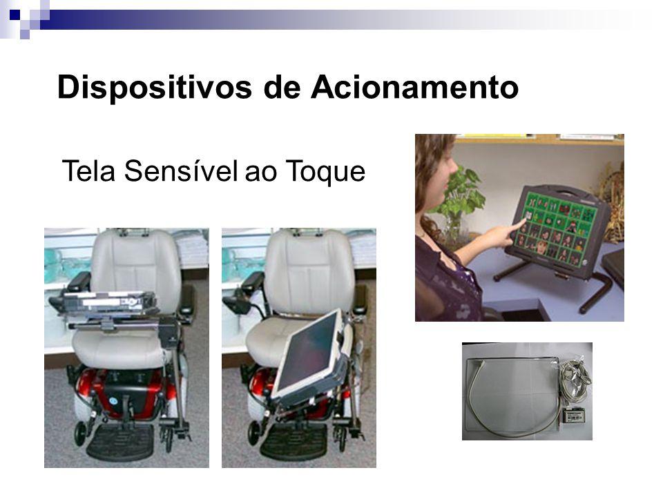 Dispositivos de Acionamento Tela Sensível ao Toque