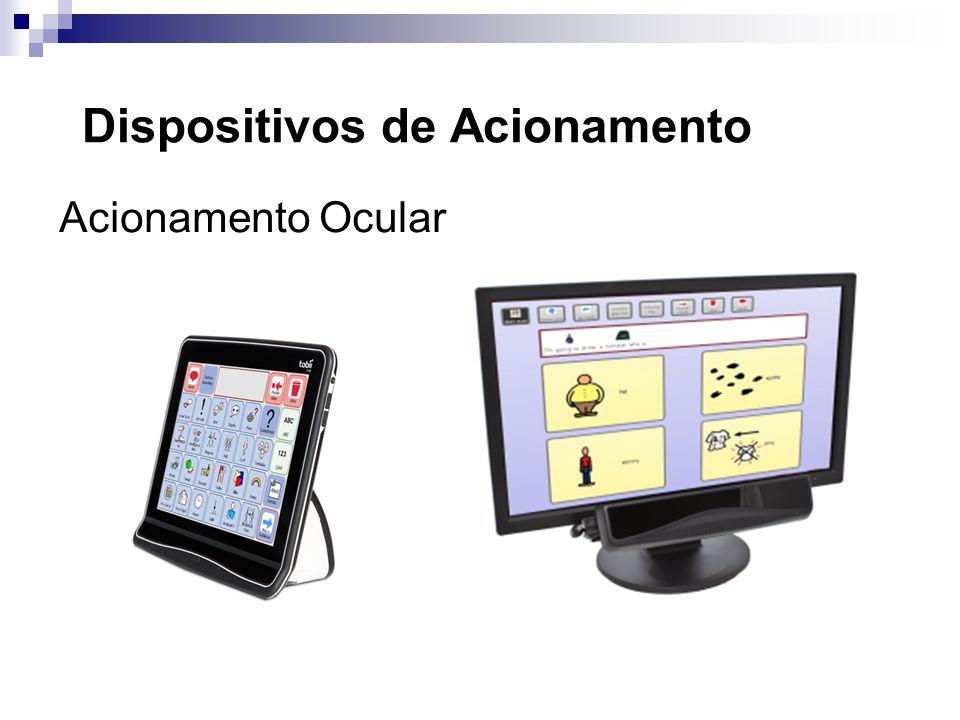 Dispositivos de Acionamento Acionamento Ocular