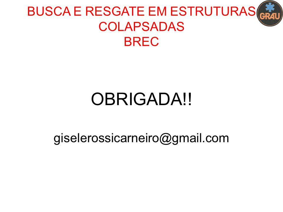 BUSCA E RESGATE EM ESTRUTURAS COLAPSADAS BREC OBRIGADA!! giselerossicarneiro@gmail.com