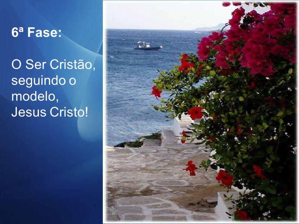 5ª Fase : As Bem-Aventuranças Cristãs.