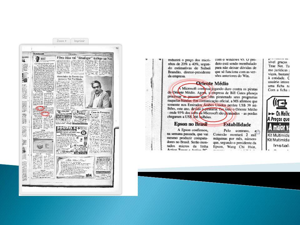 CASE LEGADO  Digitalização, inteligenciamento e recuperação da informação de todo o acervo do diário de Pernambuco  Acervo disponibilizado na WEB