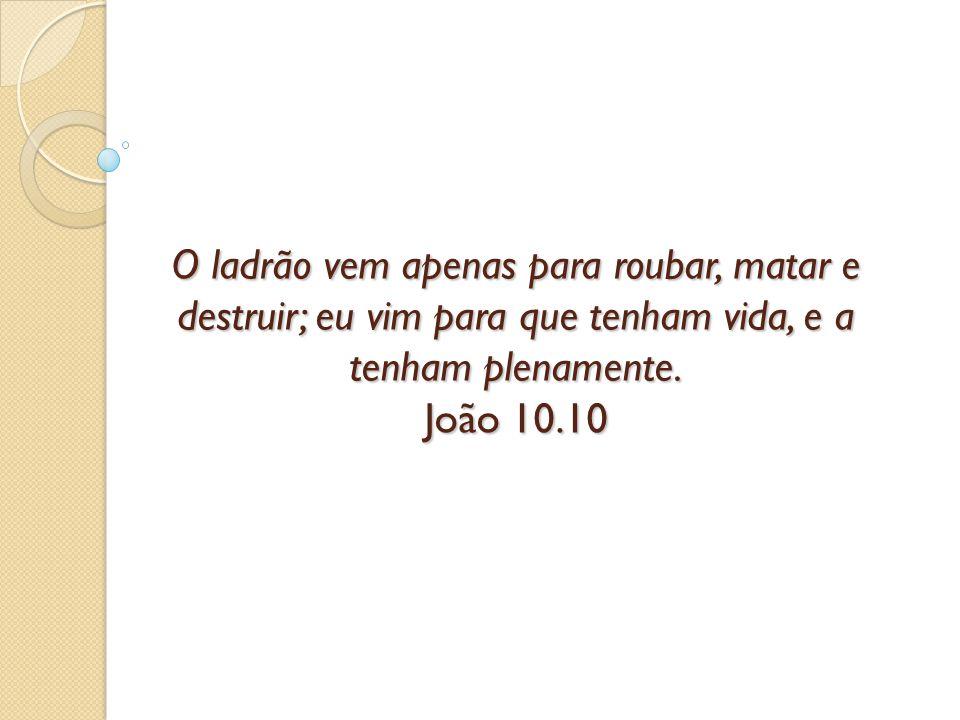 A grande proposta de Jesus é vida.