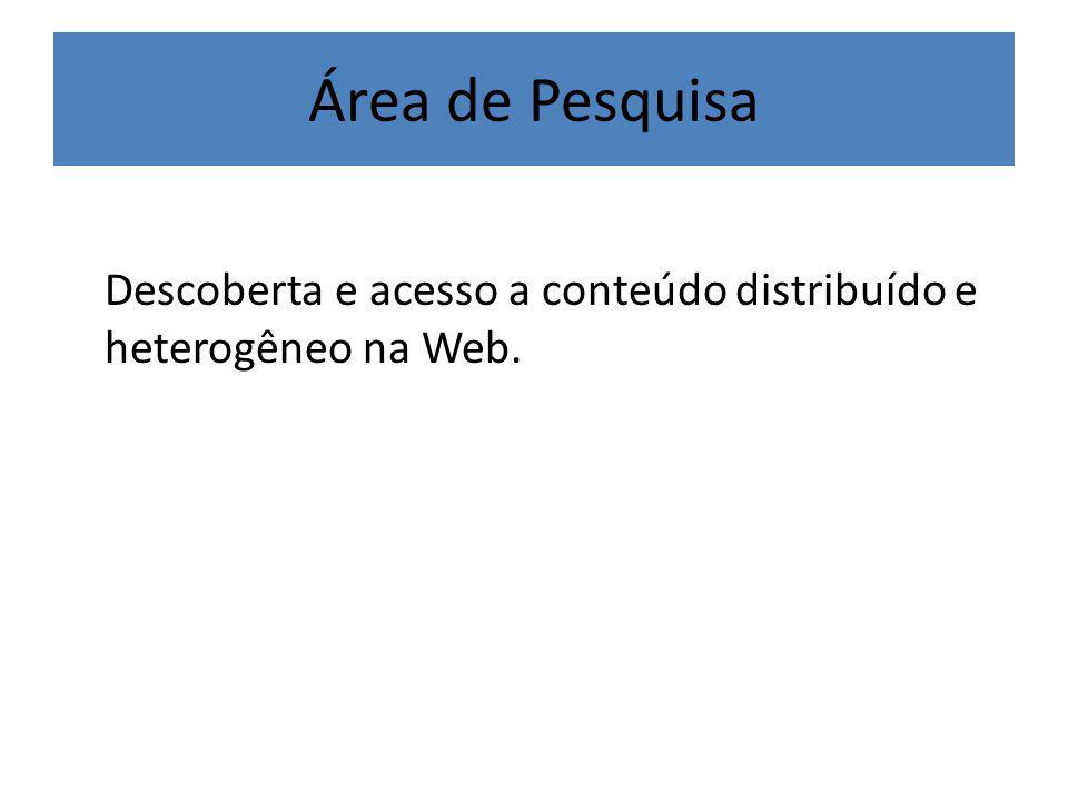Persistência do Catálogo Middleware FIPA/JADE DF Agent Base de Dados do Diretório Local Servidor SQL JDBC