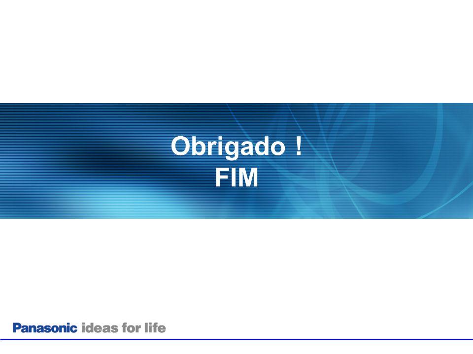 Obrigado ! FIM