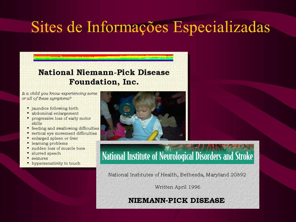 Sites de Informações Especializadas