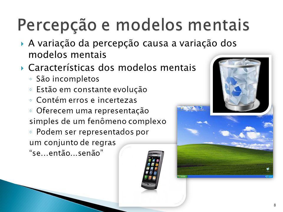  É possível alterar um modelo mental.