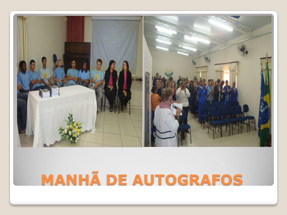 MANHÃ DE AUTOGRAFOS