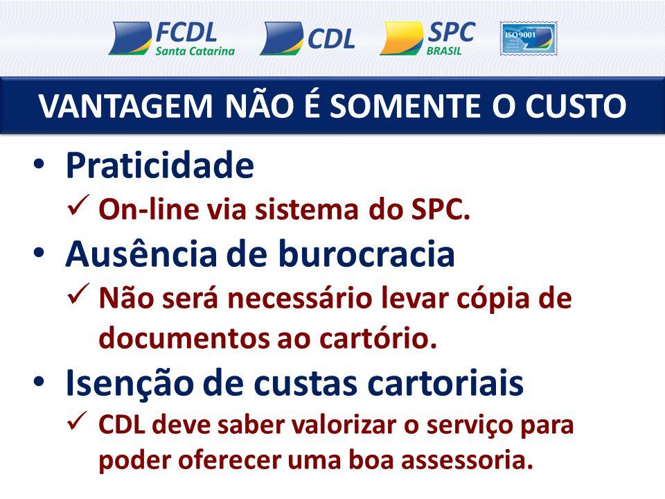 OPÇÕES DE CONSULTAS SPC PERFIL 76 – Crediário SPC/SC e SPC Brasil + CCF; 77 – Cheque SPC/SC e SPC Brasil + CCF; 79 – Crediário e cheque SPC/SC e SPC Brasil + Serasa (SP, RJ, PR, Porto Alegre).