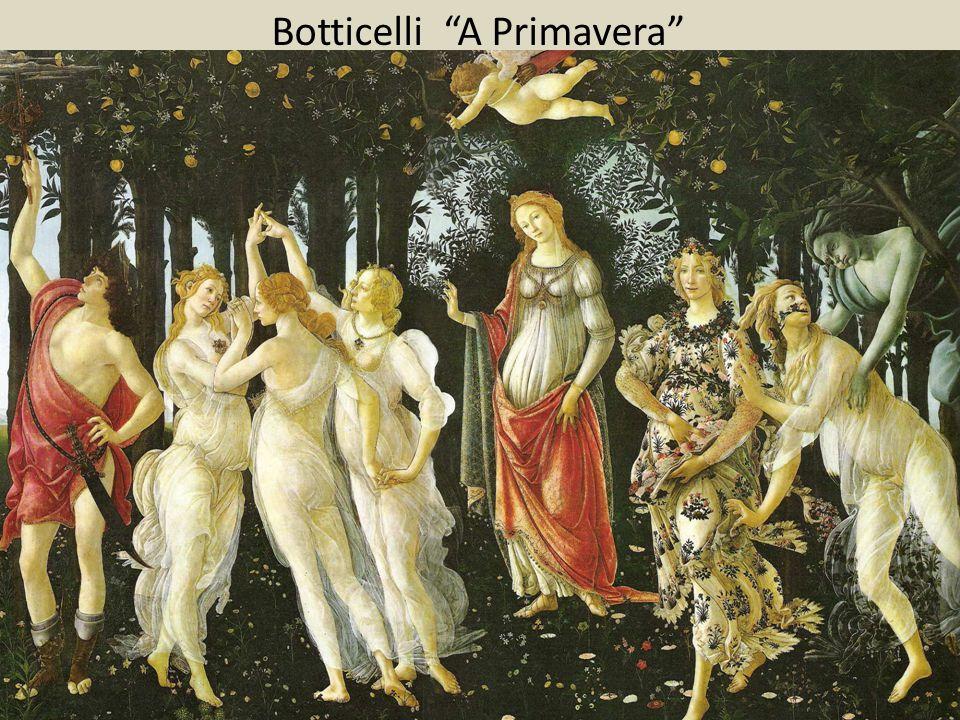 """Botticelli """"A Primavera"""""""