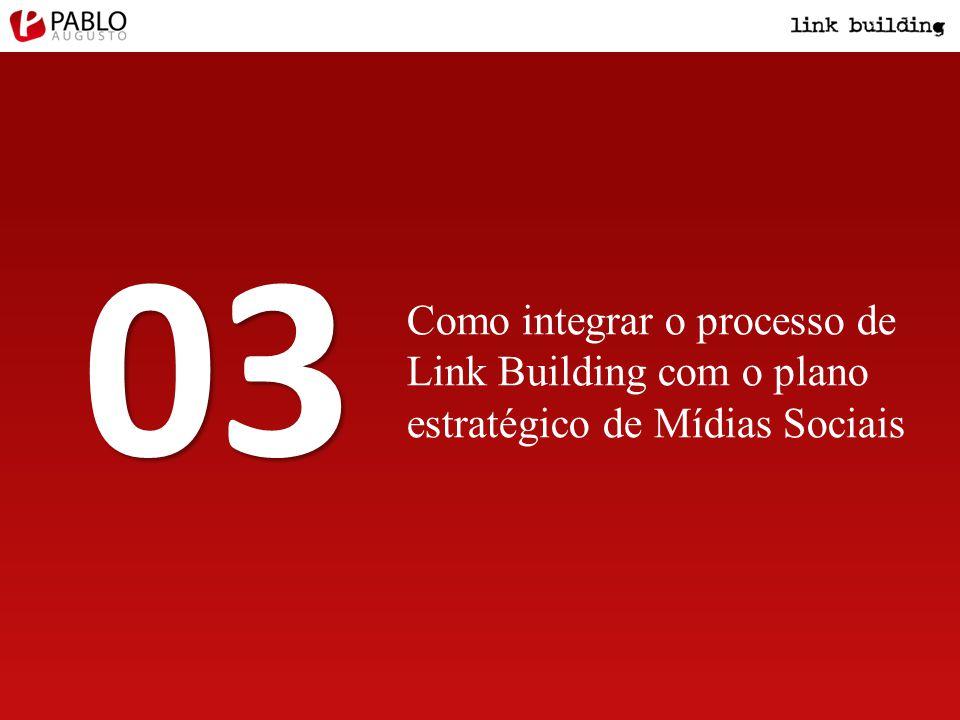 Como integrar o processo de Link Building com o plano estratégico de Mídias Sociais 03