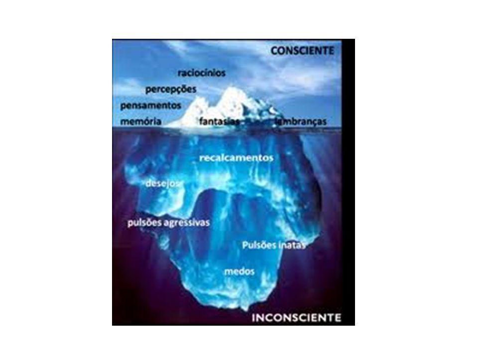Inconsciente Conflito entre o id e o superego em nível inconsciente. Paradigma da psicanálise: somos seres possuidores de um universo de desejos e necessidades que não conhecemos.