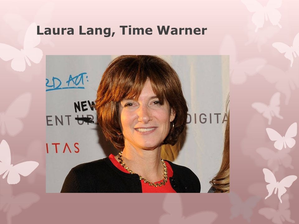 Laura Lang, Time Warner