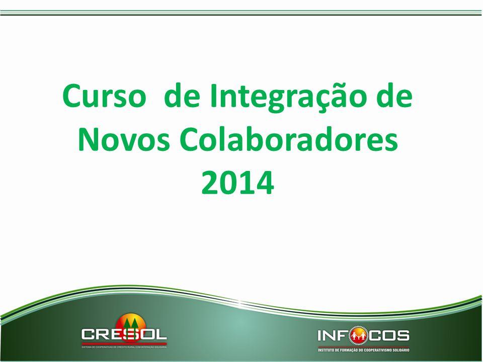 Curso de Integração de Novos Colaboradores 2014