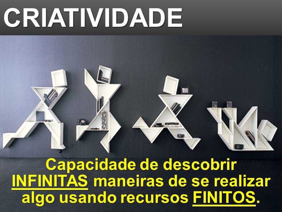 © MARIO PERSONA Comunicação & Marketing www.mariopersona.com.br Capacidade de descobrir INFINITAS maneiras de se realizar algo usando recursos FINITOS.