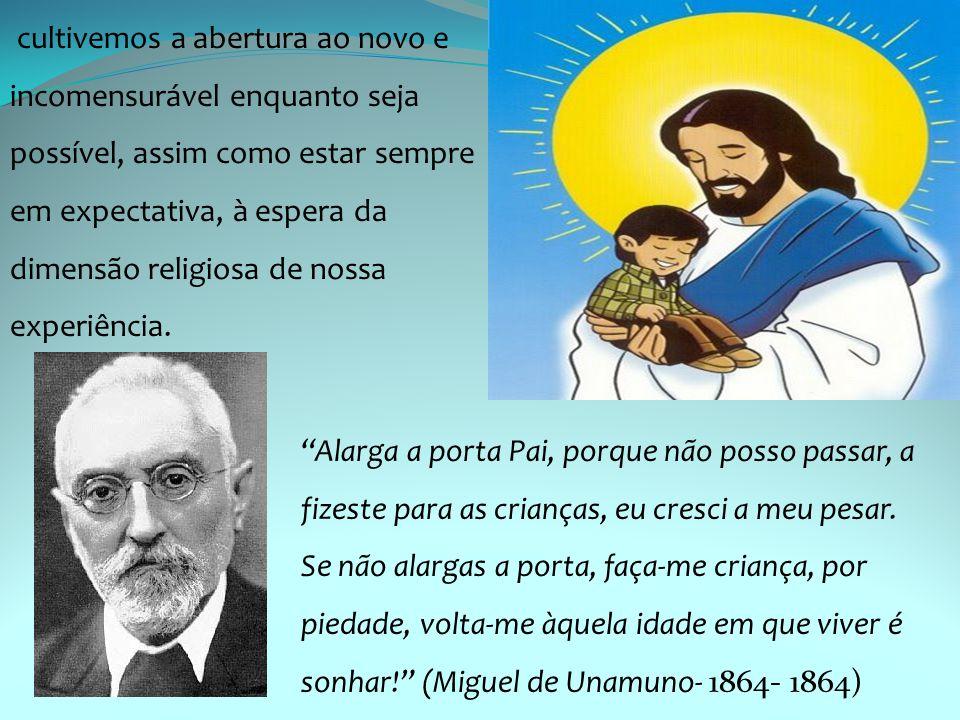 """""""Alarga a porta Pai, porque não posso passar, a fizeste para as crianças, eu cresci a meu pesar. Se não alargas a porta, faça-me criança, por piedade,"""