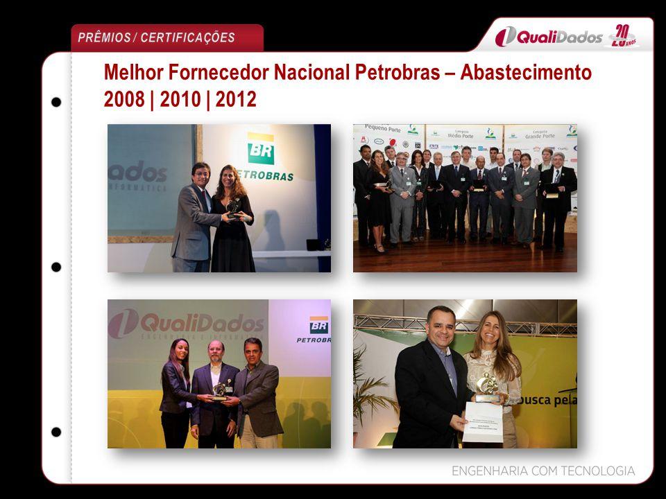 Melhor Fornecedor Nacional Petrobras – Abastecimento 2008 | 2010 | 2012