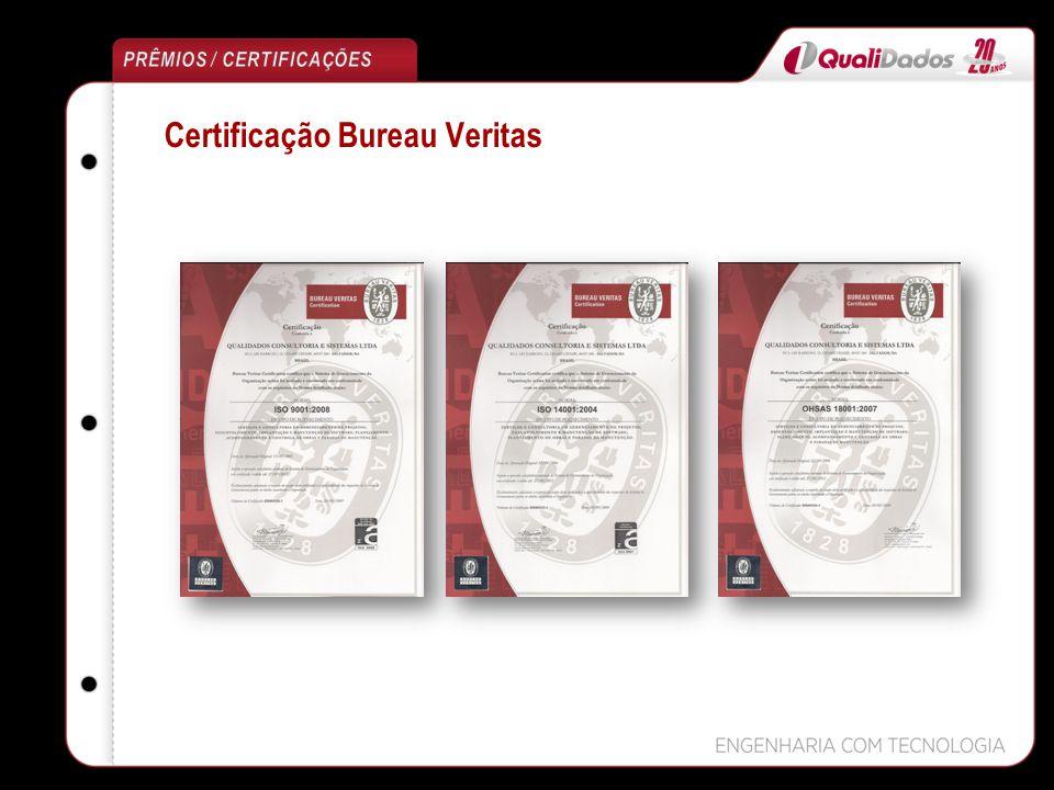 Certificação Bureau Veritas