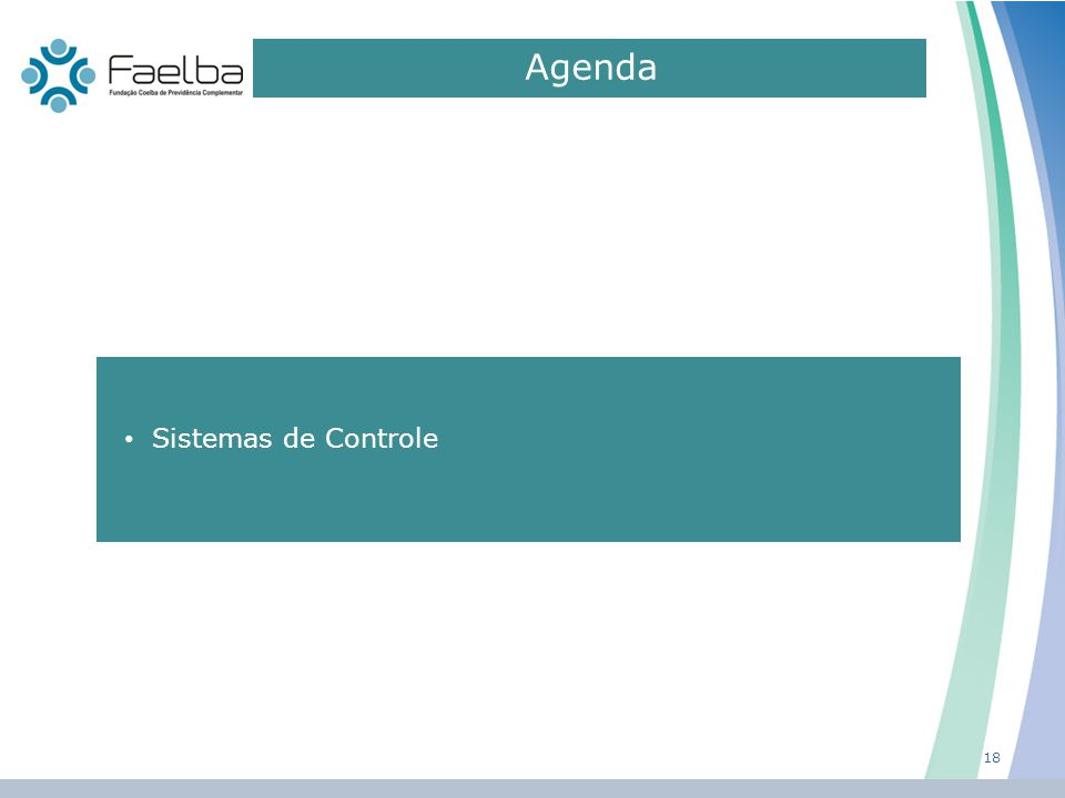Agenda 0 18 Sistemas de Controle
