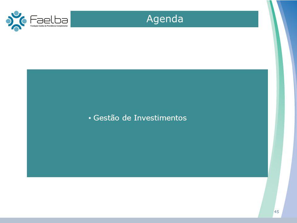 Agenda 0 45 Gestão de Investimentos