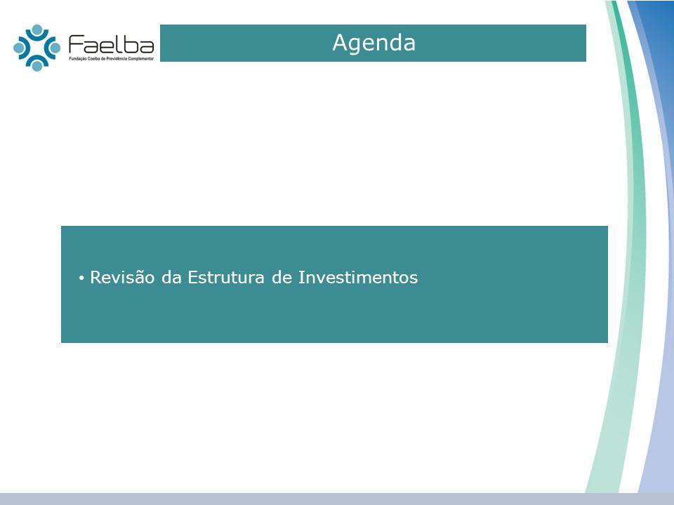 Agenda 0 Revisão da Estrutura de Investimentos