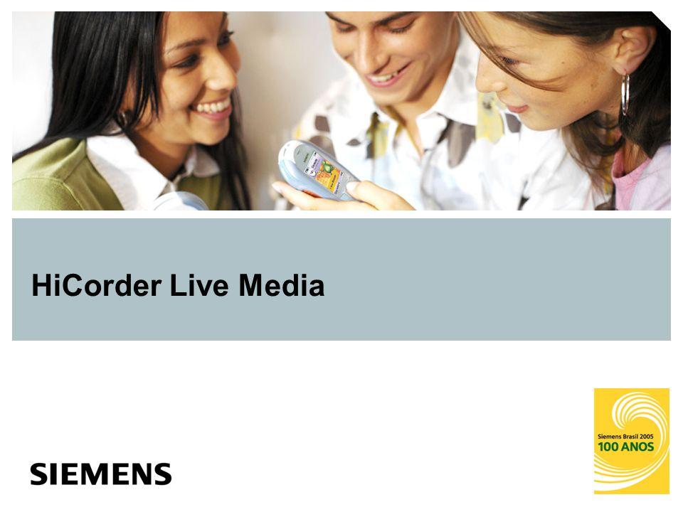 HiCorder Live Media