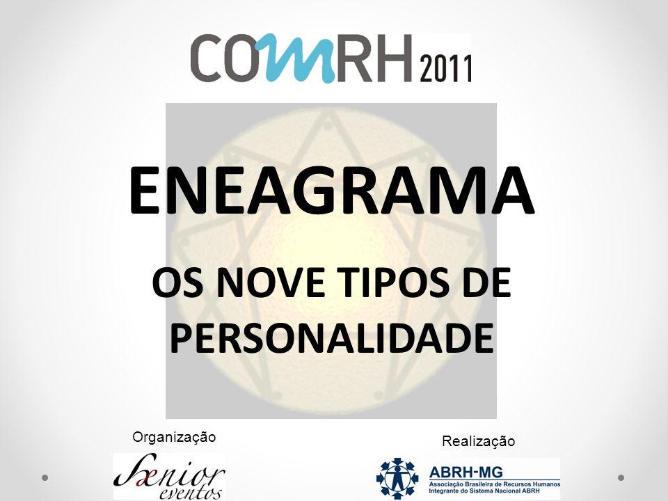 Organização Realização ENEAGRAMA OS NOVE TIPOS DE PERSONALIDADE