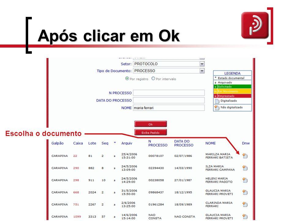 Após documento selecionado Preencha as informações Com dados complementares E em seguida clique em arquivo