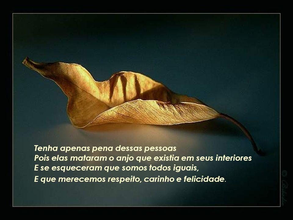 Estamos aqui em busca da felicidade não só da nossa mas também dos outros....